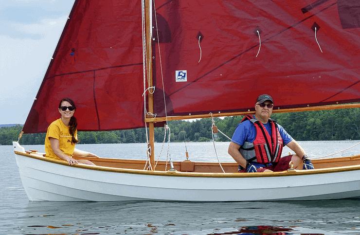 Sailing the Stockbridge Bowl