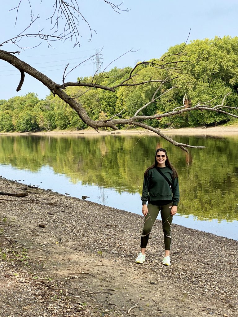 hike pike island loop at fort snelling state park
